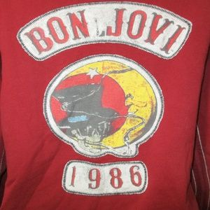 Trunk Bon Jovi Graphic Full Zip Hoodie S